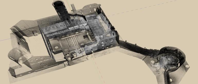 Pointcloud of Haapsalu Episcopal Castle