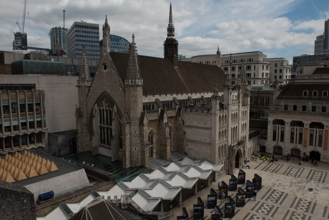 City Of London Guildhall UAV Photogrammetry Survey
