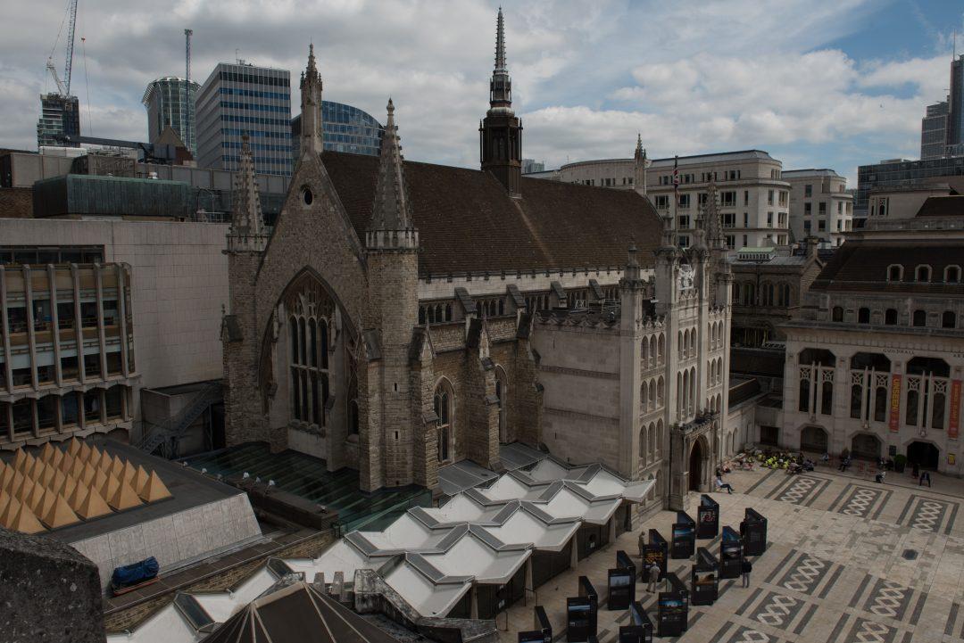 City Of London Guildhall UAV Photogrammetry Survey