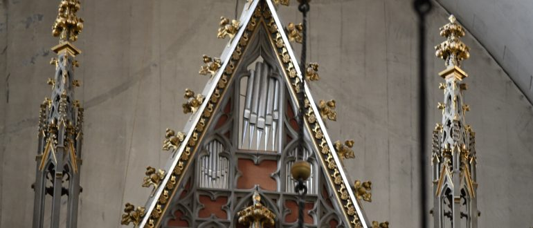 Oleviste kirik, detailfoto orelist