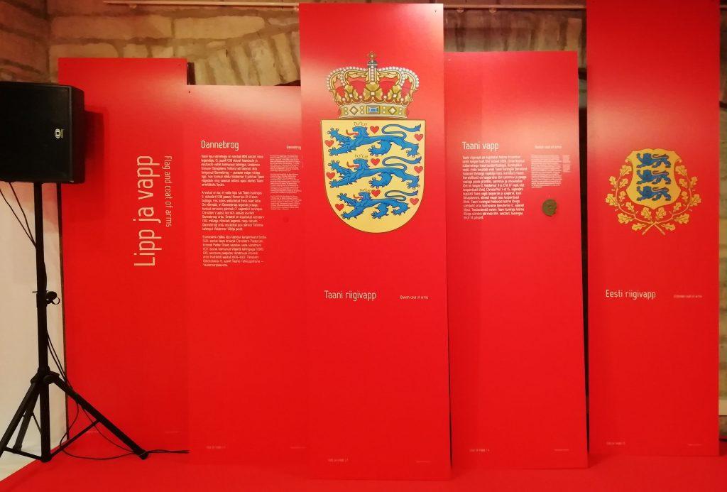 Pitserid asetatuna näituse kontseksti. Foto: A. Uueni